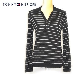 50% Off Tommy Hilfiger Womens Long Sleeves Tee M